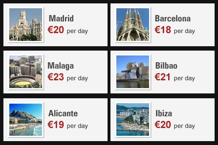 Spain Car Rental Deals